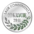 Laur Konsumenta Odkrycie 2011