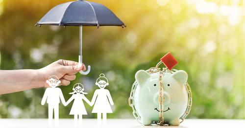 Ubezpieczona rodzina i jej oszczędności